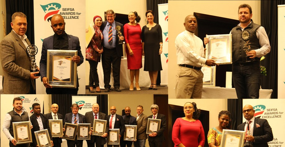 SEIFSA Awards for Excellence 2017. Image courtesy of SEIFSAAwards.co.za